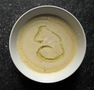 Truffled Cream of Celeriac Soup